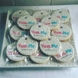 Business Corporate biscuits logo - YumMe