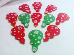 Christmas biscuits - Baubles