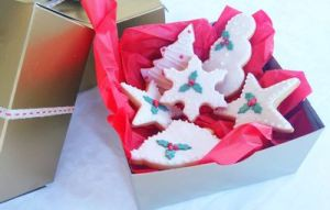 Christmas biscuits - Gift Box Colour