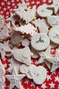 Christmas biscuits - mixed