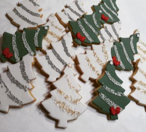 Christmas tree biscuits 500