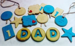 Father Day biscuits - E