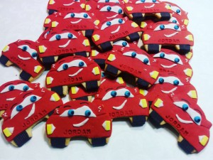 Kiddies biscuits - car theme