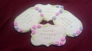 Mothers Day biscuits - C