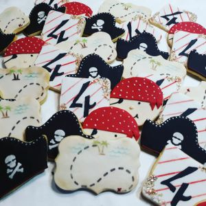 Pirate themed biscuits (B) 300