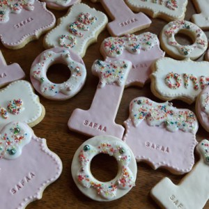 Safaa's 1st birthday biscuits - 500