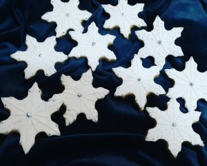 Snowflakes biscuits 300