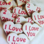 Wedding & engagement biscuits H