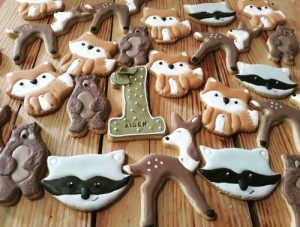 Woodland Theme Biscuits-Cookies B 500