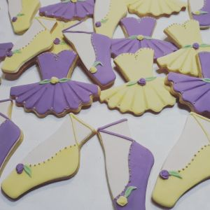 Alex's homemade Ballet biscuits