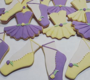 Homemade Alex's Ballet biscuits