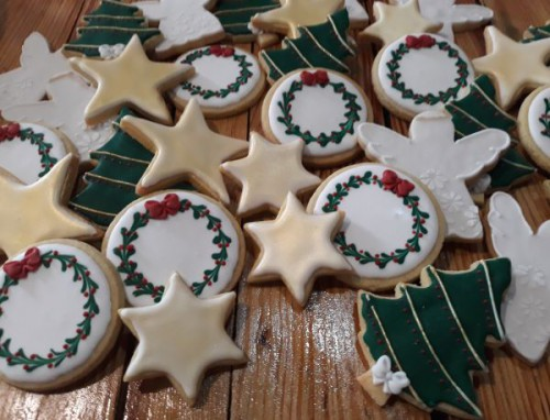 Christmas Biscuit-Cookie Set 600