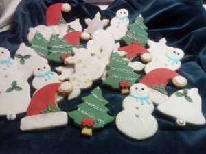 Christmas biscuits - for Simone