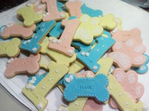 Ellies 1st birthday homemade baby biscuits