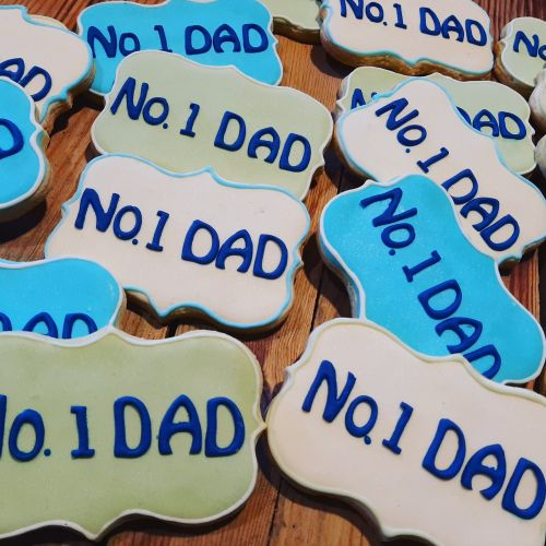 Homemade Fathers Day cookies 500