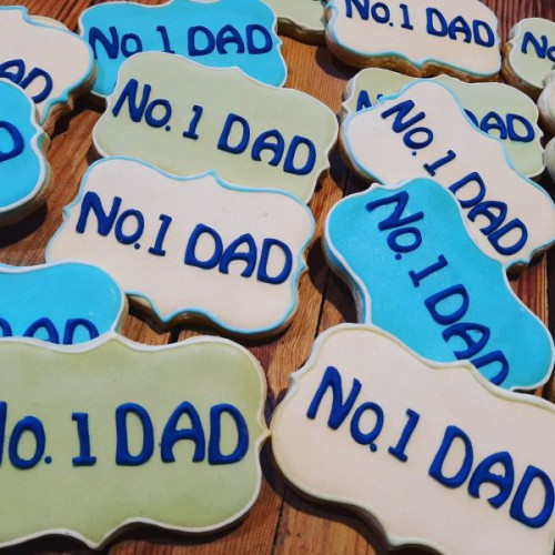 Homemade Fathers Day cookies 600