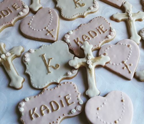 Homemade biscuits: Kadie's Baptism -500