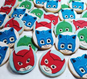 Homemade biscuits: PJ Mask biscuits