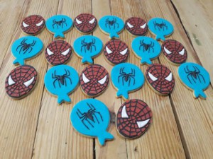 Spiderman biscuits cookies 500