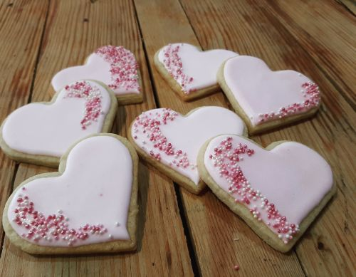 Homemade biscuits - Valentines' Day 500