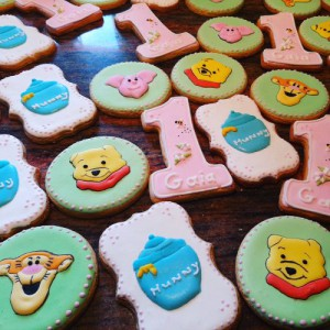 Winnie the Pooh homemade birthday biscuits 500
