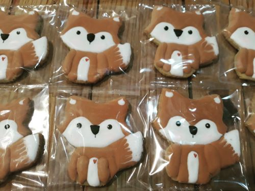 Homemade Woodland Theme Biscuits-Cookies 500